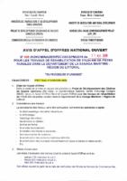 AON 006 TRAVAUX DE REHABILITATION DES PISTES_SANAGA MARITIME_220518