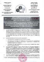 AMI N° 014 RECRUTEMENT CABINET ELABORATION STRATEGIE COMM ET MOBLIS CON PR LE PDCVA – Copie