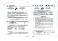 PUBLICATIONS SOPECAM COMMUNIQUES DECISIONS 246. 251. 253